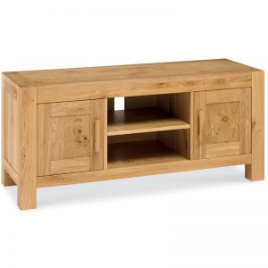 Albany Oak Large Tv Unit