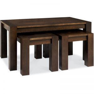 Albany Walnut Nest Of Coffee Tables