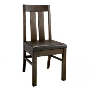 Albany Walnut Slatted Dining Chair