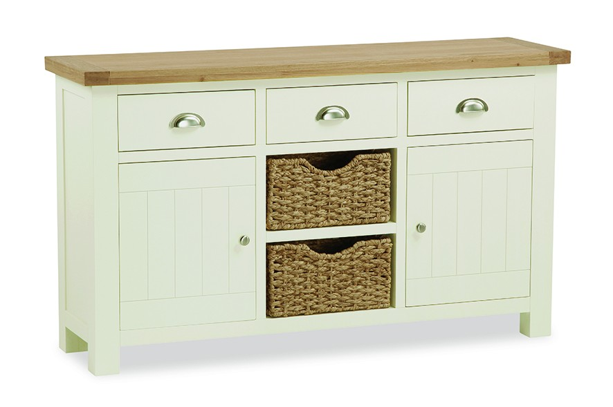 Loire Large Sideboard WIth Baskets