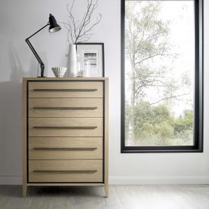 Danube 5 drawer tall chest