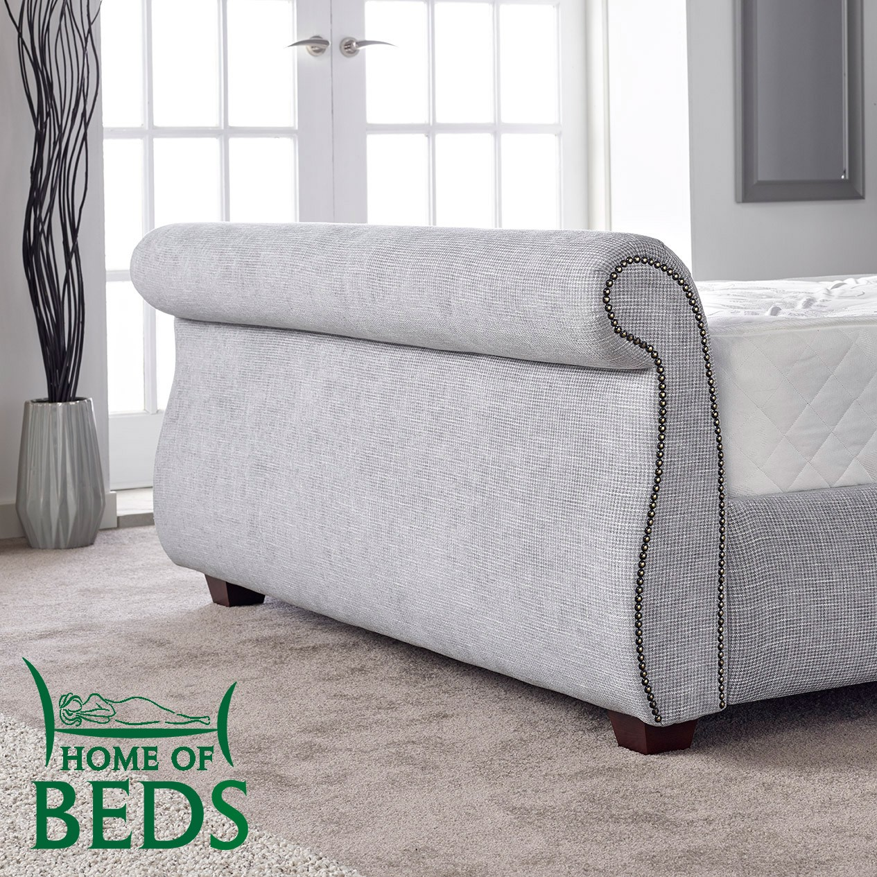 Tuscany 5ft fabric bedstead