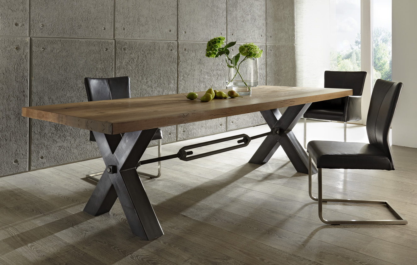 Kansas dining table frank mc gowan for Esstisch 12 personen