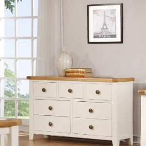 Nore 7 drawer wide chest