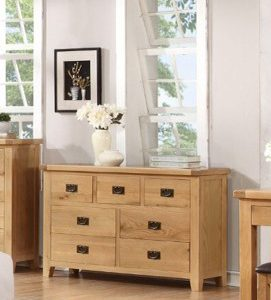 Suir 7 drawer wide chest