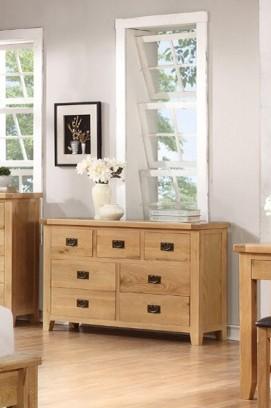 Suir 7 drawer wide chest