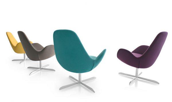 Calligaris Electa Swivelling Chair