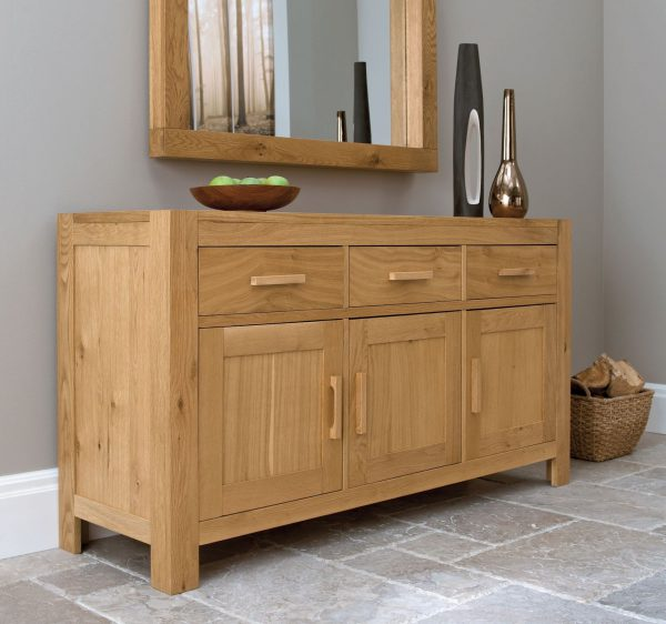 Albany Oak Wide Sideboard