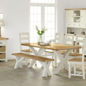 Loire Cross Dining Table