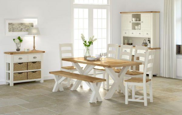Loire Cross Dining Table