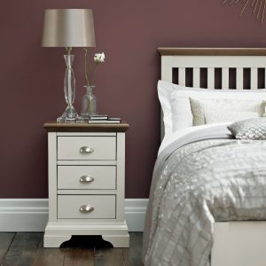 Oscar 3 Drawer Nightstand