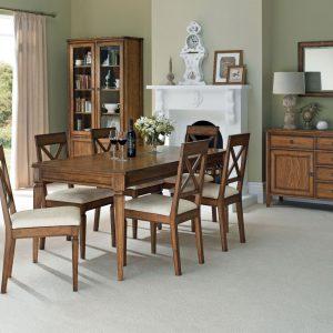 Sophia Oak Extending Table