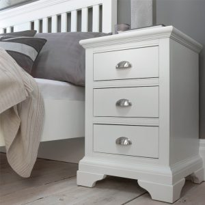 Rhodes 3 Drawer Nightstand