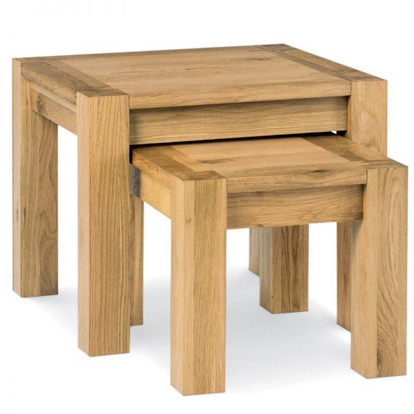 Albany Oak Nest Of Tables