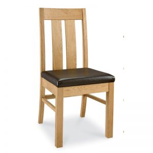 Albany Oak Slatted Dining Chair