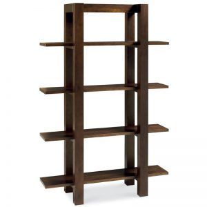 Albany Walnut Open Bookshelf