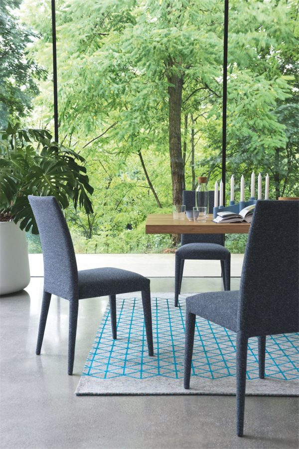 Calligaris Anais Leather Dining Chair