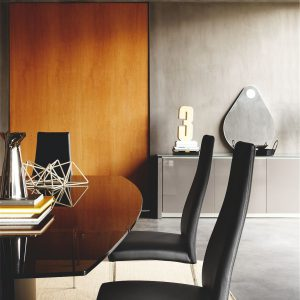Calligaris Juliet Leather Dining Chair