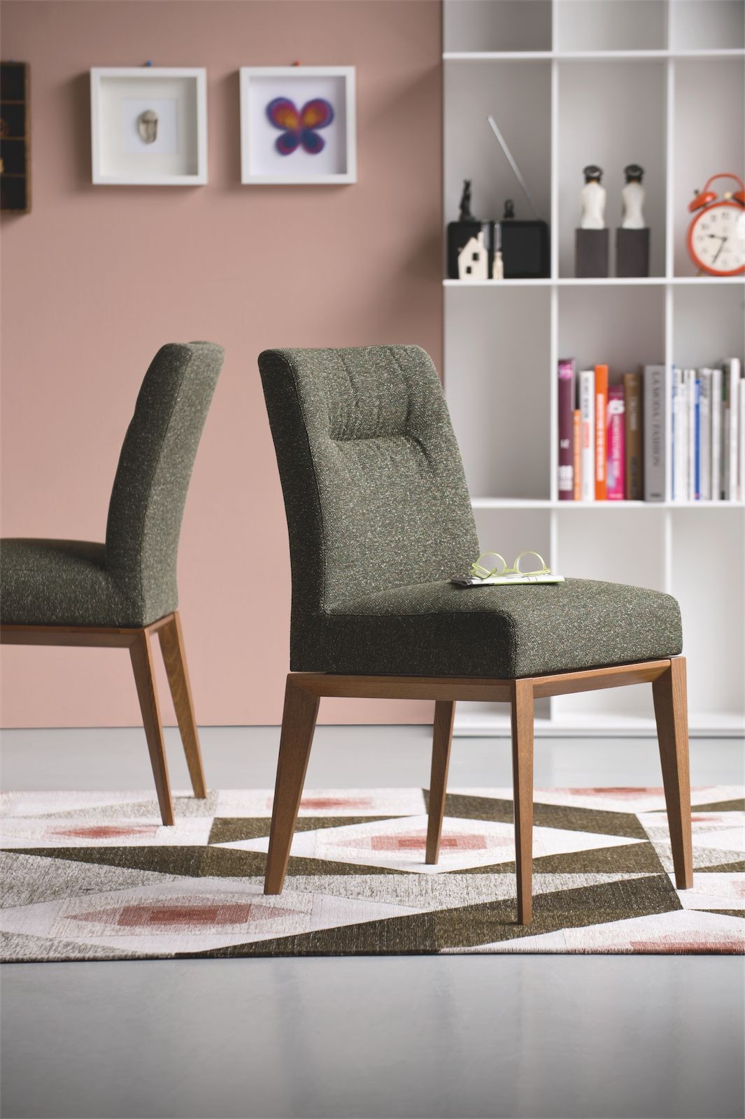 Calligaris Tosca Fabric Dining Chair Frank Mc Gowan