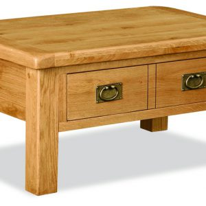 Bask Coffee Table With Drawers