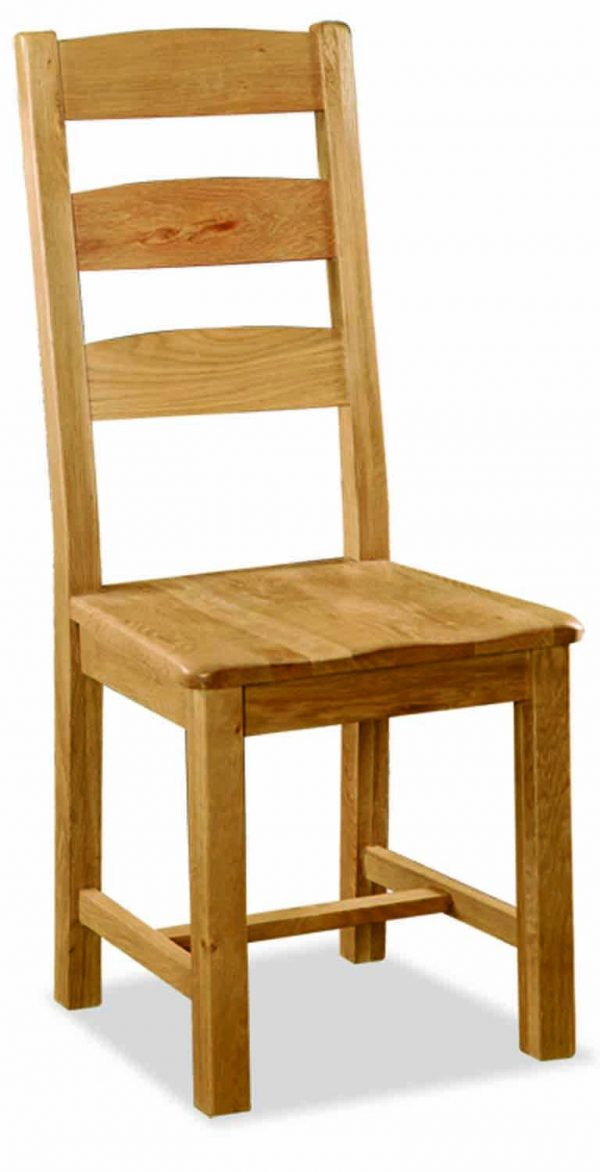 Bask Dining Chair Wooden Seat