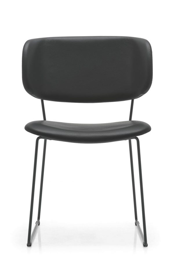 Calligaris Claire M Leather Dining Chair
