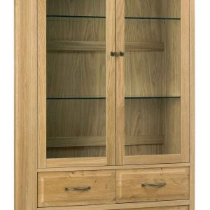Turner Double Display Cabinet