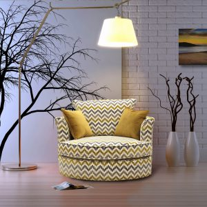 Carina swivel chair