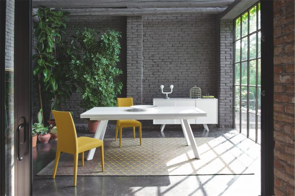 Calligaris Ponente extending dining table