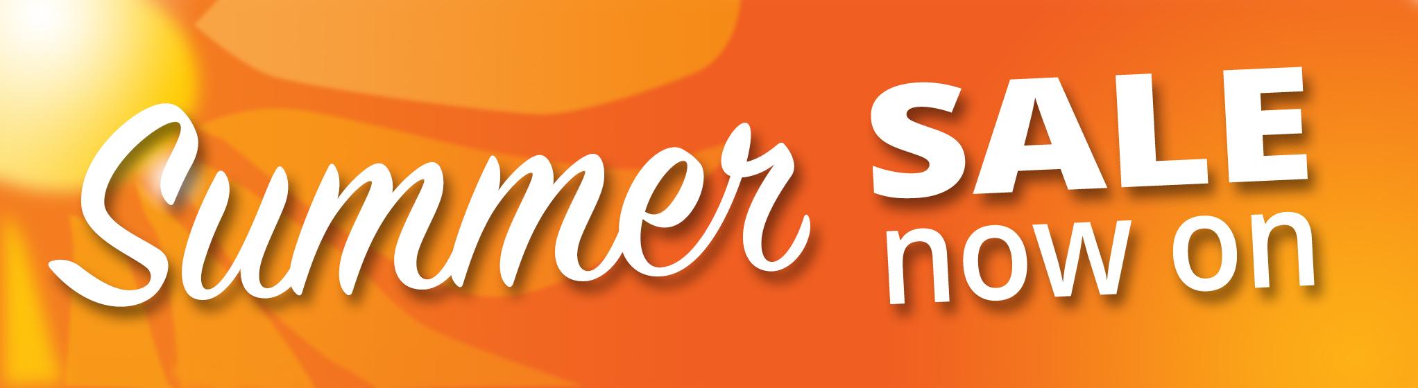 Summer Sale Banner no circle
